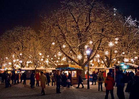 Weihnachtsmarkt Basler Fyynkoscht