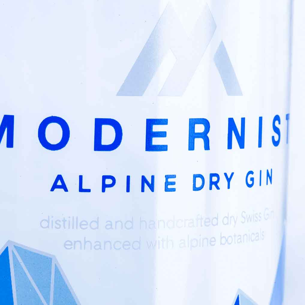 Gin Baselbiet Modernist Alpine Dry Gin Basel