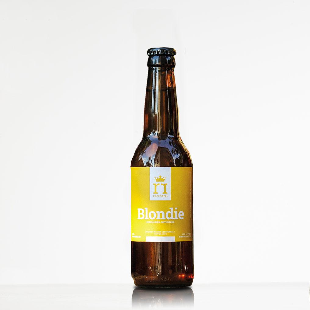 Ruecherei Bier Blondie Baselbiet