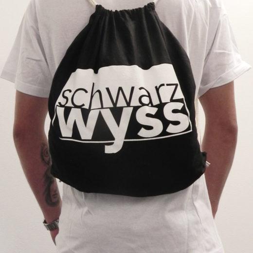 Rucskäggli Schwarzwyss