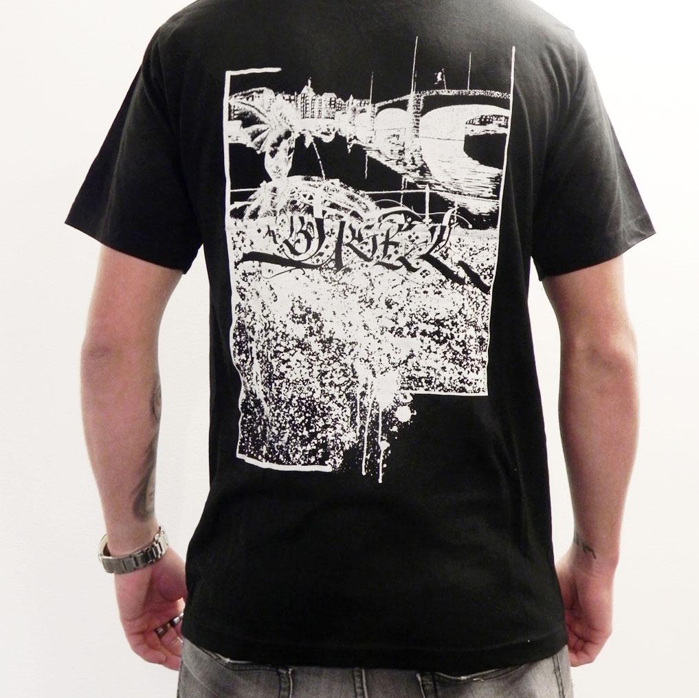 Basel T-Shirt Basel Mittlere Brücke