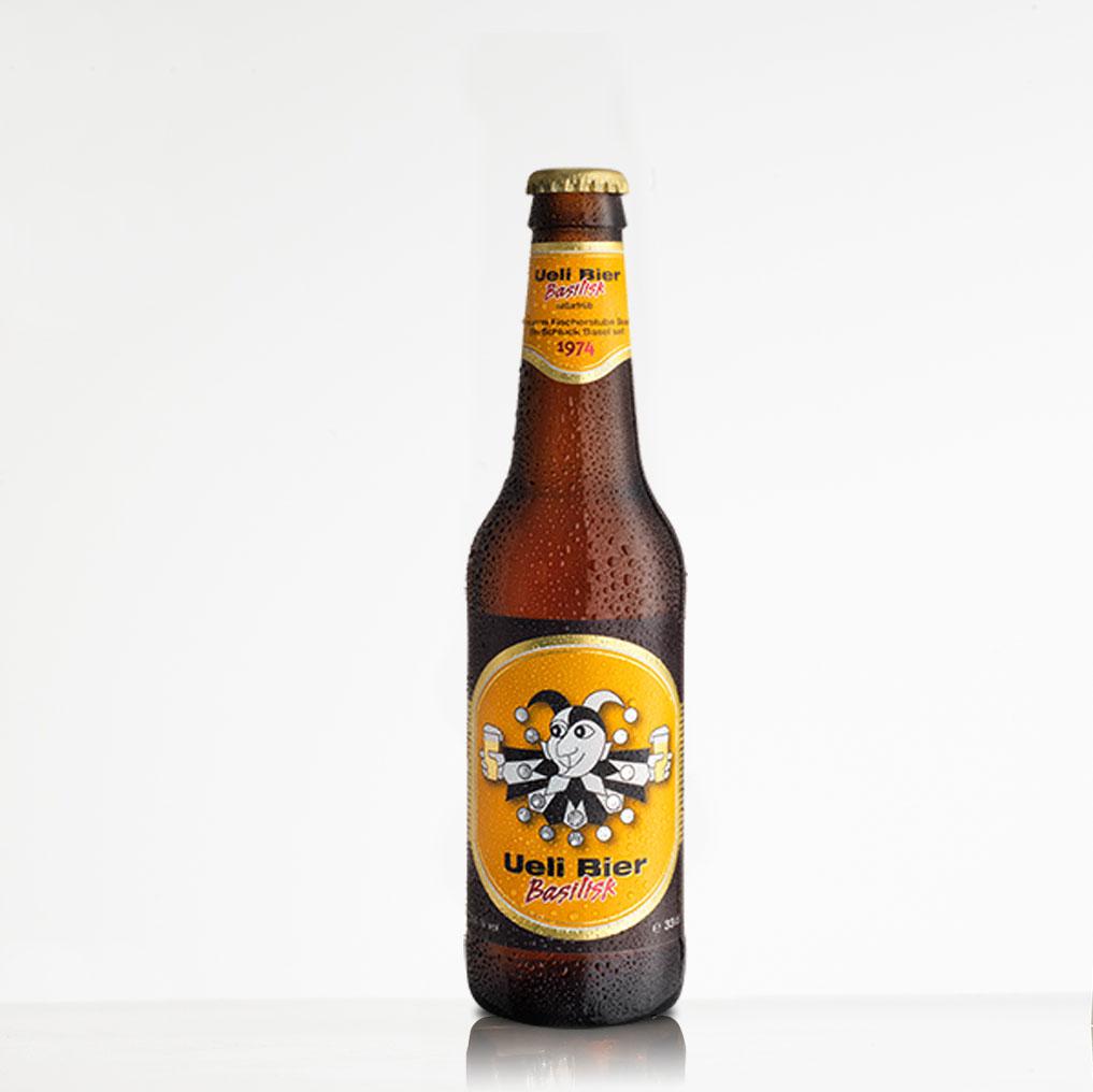 Bier Uelibier Basilisk aus Basel