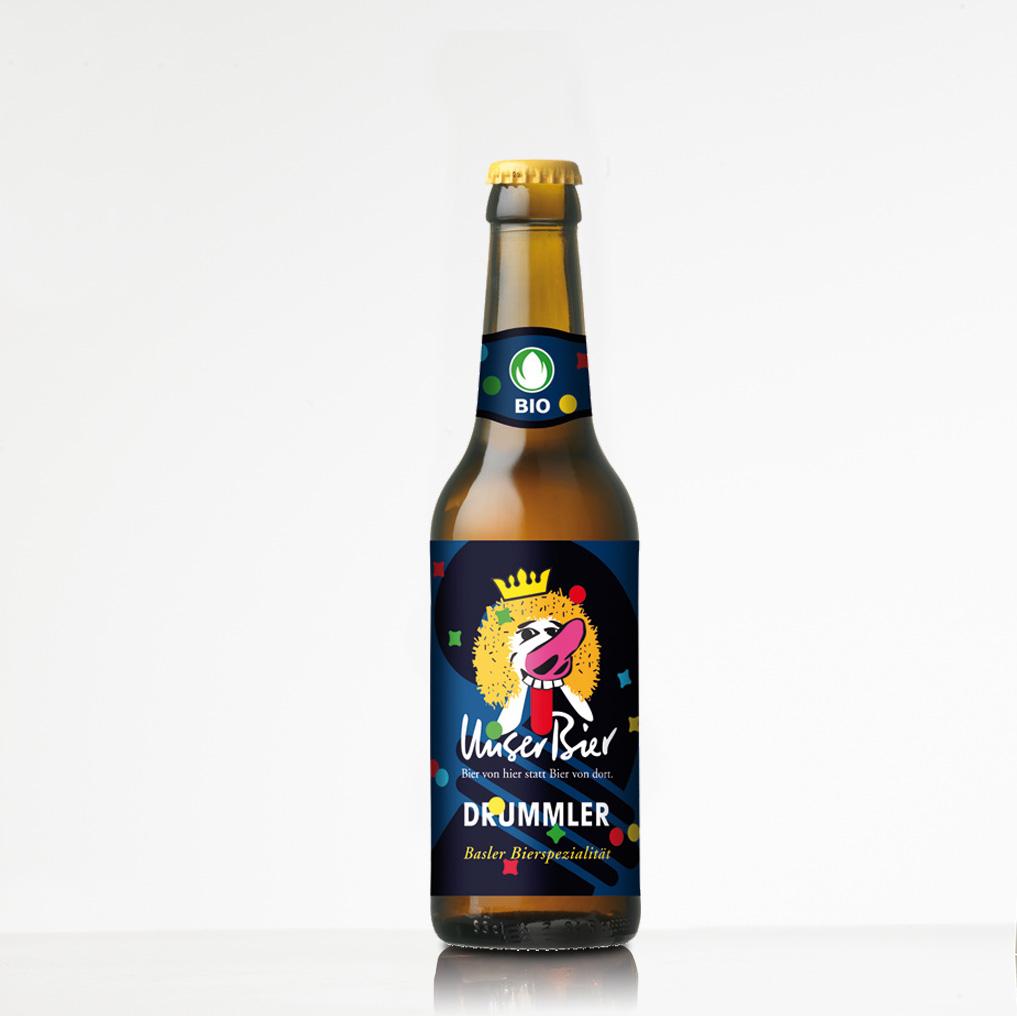Unser Bier Fasnachtsbier Drummler Basel