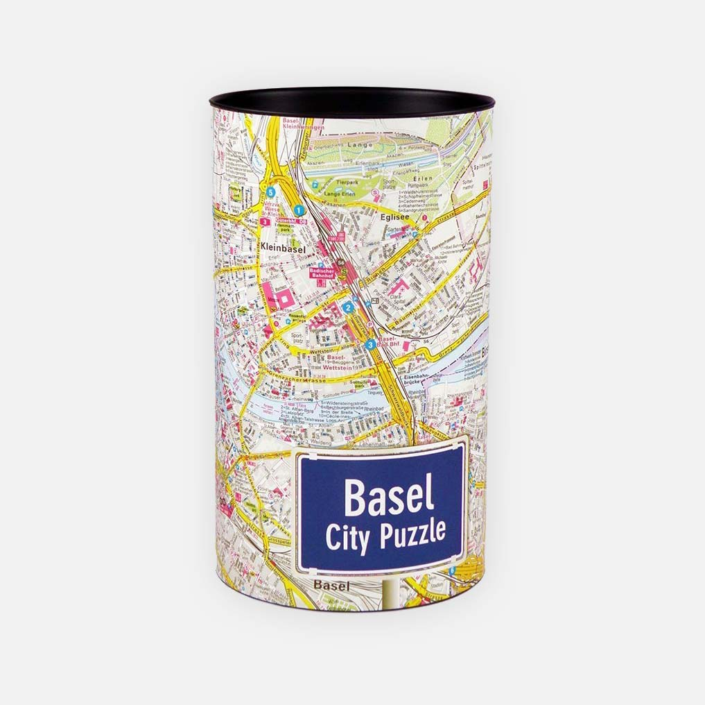 City Puzzle Basel Geschenkidee