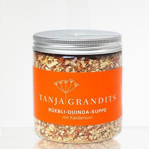 Rüebli Quinoa Suppe Tanja Grandits Stucki Basel