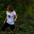 WandArt T-Shirt Brinzler Waggis Ladies weiss
