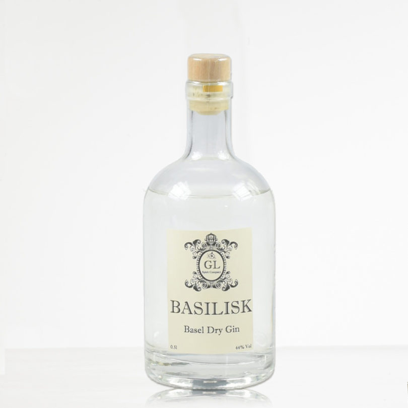 Basilisk Gin - Dry Gin aus Basel