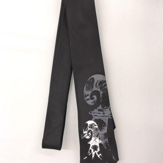 Krawatte Baselstab Siebdruck