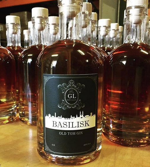 Basilisk Old Tom Gin Basel