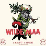 Wilde Maa Craft Cider Etikette