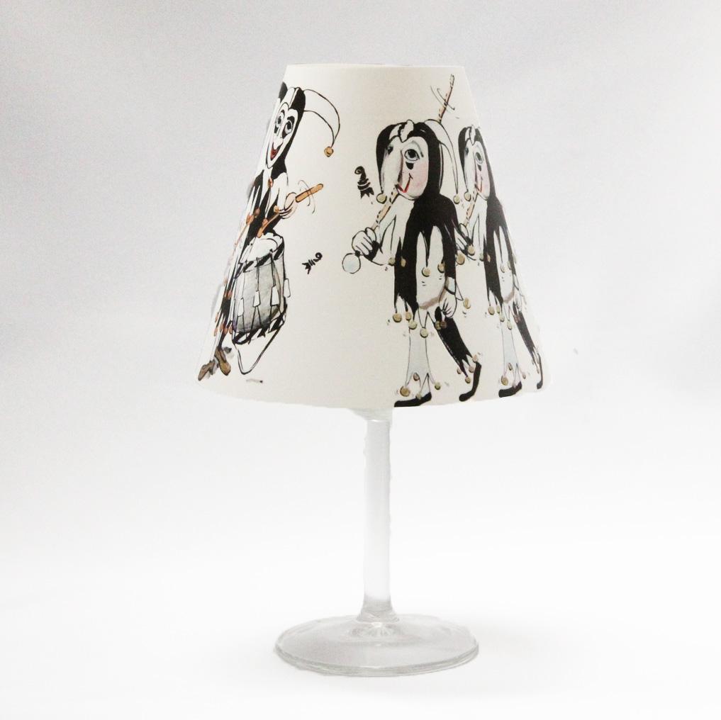 Audrey Marti Tischlicht Lampe Basler Fasnacht Ueli
