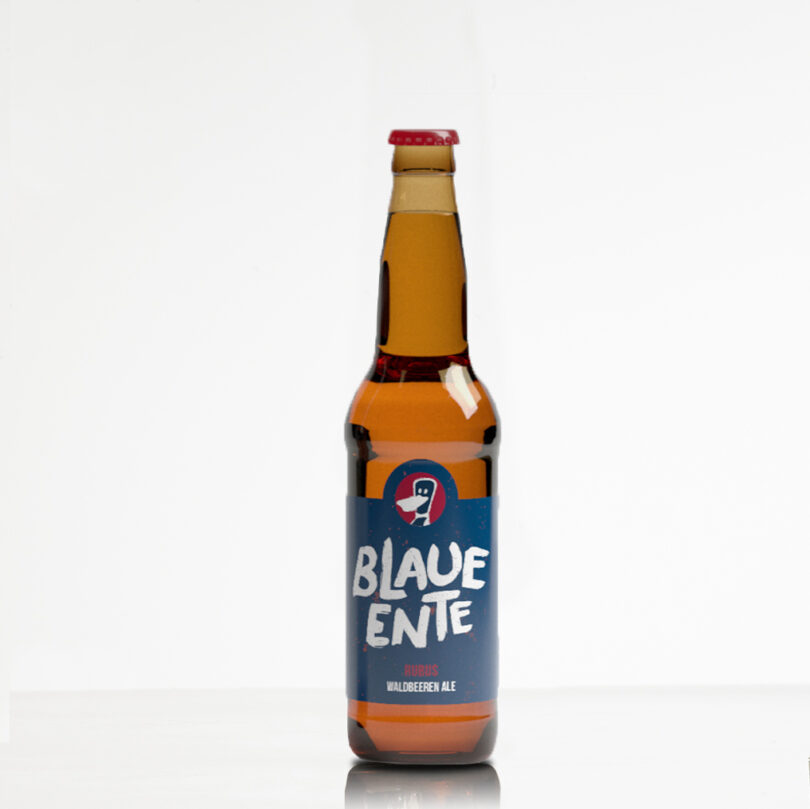 Blaue Ente Rubus - Bier aus Muttenz