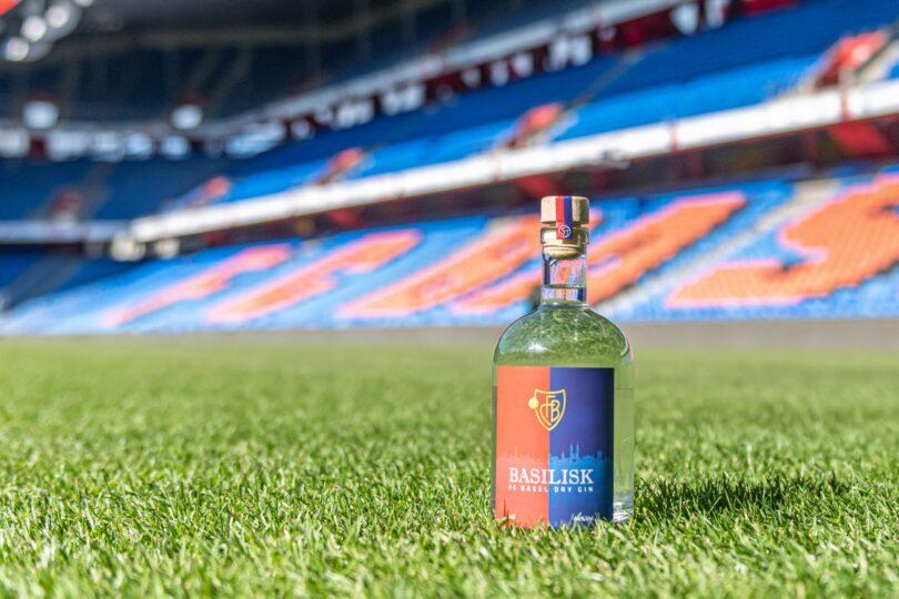 FCB Gin FC Basel Basilisk Dry Gin von GL Spirits