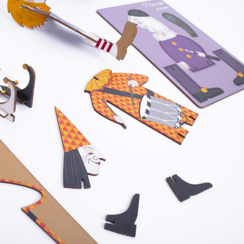Basler Puzzli 3D Puzzle Basler Fasnacht