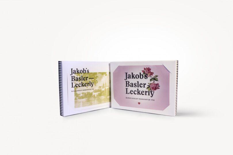Basler Läckerli von Jakob's Leckerly in saisonal wechselnder Box