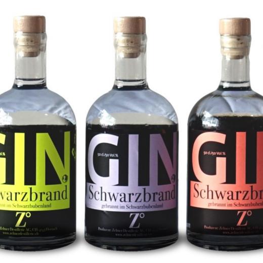 Schwarzbrand Gin Destillerie Zeltner Dornach