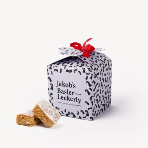 Jakobs Basler Leckerly Kleeblattbox